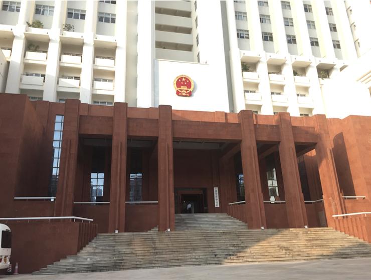广东省汕头中级人民法院审判庭使用得胜麦克风