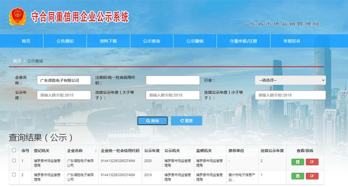 """得胜公司连续荣膺""""广东省守合同重信用企业""""称号-2.jpg"""