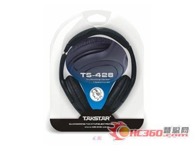 TS-428监听耳机包装正面